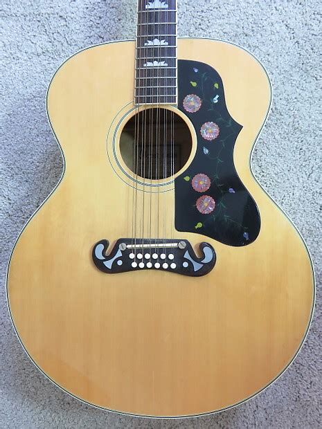 Ibanez Jumbo vintage 1970 ibanez jumbo concord 12 string acoustic guitar reverb