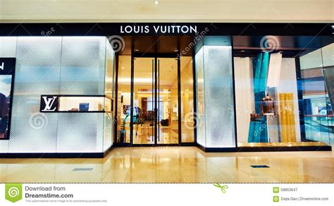 sophisticated luxury displayed by avenue lv louis vuitton boutique shop fashion store front