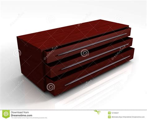 wooden photo storage cabinet 3d wooden storage cabinet royalty free stock photography
