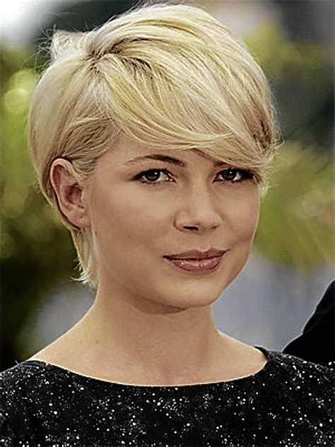 favorite short haircuts  women  thick hair