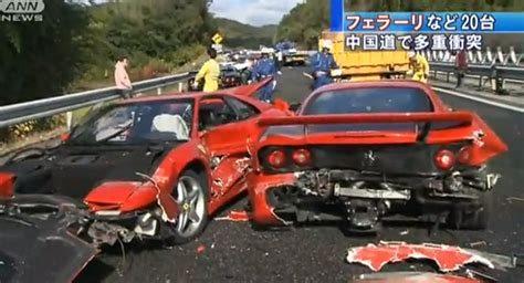 accident recorder 2007 ferrari f430 engine control car crash japanese car crash