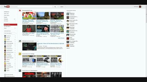 youtube subscriptions layout the old youtube subscriptions layout is gone for good