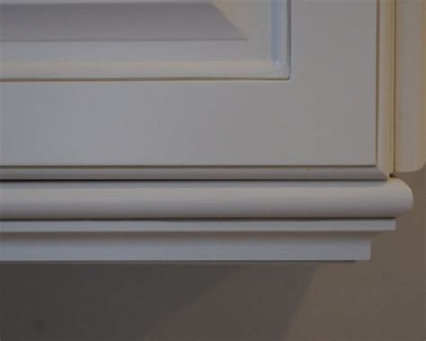 cabinet light rail moulding cabinet light rail molding added to cabinets
