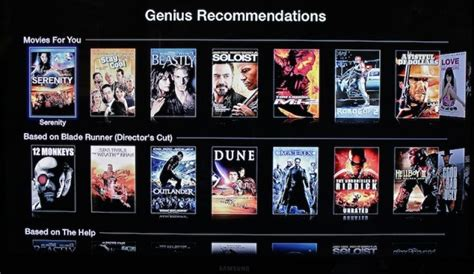 film recommendation quiz apple brings genius recommendations for movies and tv
