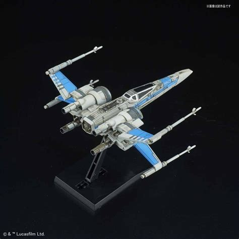Wars Blue Squadron Resistance X Wing Fighter Bandai wars vehicle model series 011 blue squadron