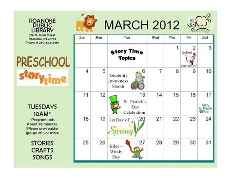 kindergarten themes march kindergarten calendar on pinterest party invitations ideas