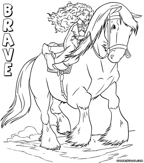 brave coloring pages coloring pages to download and print