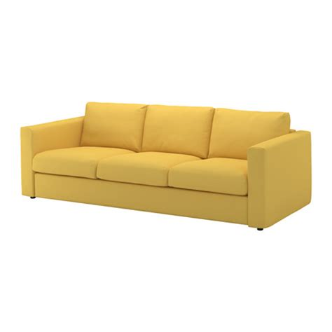 ikea couched vimle sofa orrsta golden yellow ikea