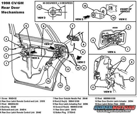 ford explorer door lock diagram ford explorer back door latch diagram autos post