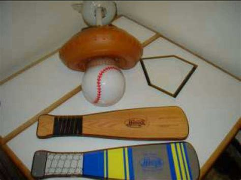 baseball themed ceiling fan baseball themed 4 blade ceiling fan in plainfield letgo