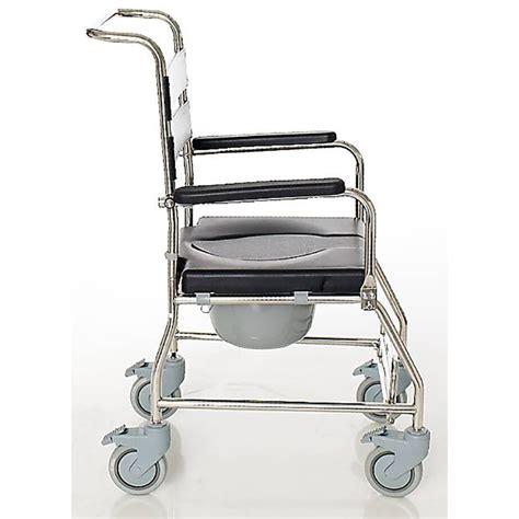 iguazu 1505sb steel aluminium wc shower chair teyder