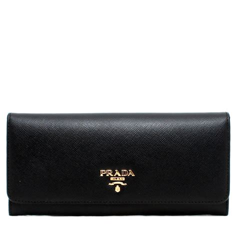 9 Top Prada Wallets by Prada 1m1132 Saffiano Leather Fold Wallet Pink