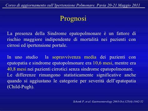 cicli destro pavia ipertensione polmonare nelle epatopatie