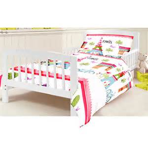 Toddler Cot Bed Bedding Set Cotbed Junior Duvet Cover Set Children S