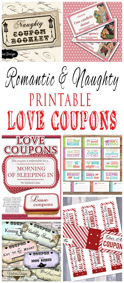 free printable dirty love coupons for him romantic and naughty printable love coupons for him