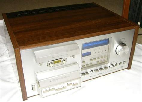 pioneer tv deck pioneer cassette deck model ct f900