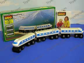 brio railway brio 33420 bullet train wooden railway set new sweden