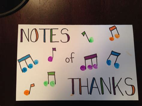 printable thank you cards for music teachers music teacher thank you card fingerprint music notes a