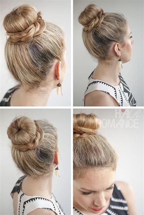 pics of donut buns hair romance 30 buns in 30 days day 11 the donut bun