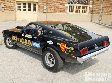 Jersey Dragrace Custom Just 69 mustang race car mustang only awesome