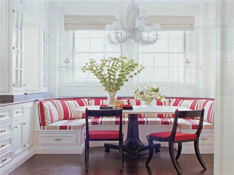 Modern upholstered benches, breakfast nooks for small