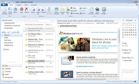 windows live mail pcworld