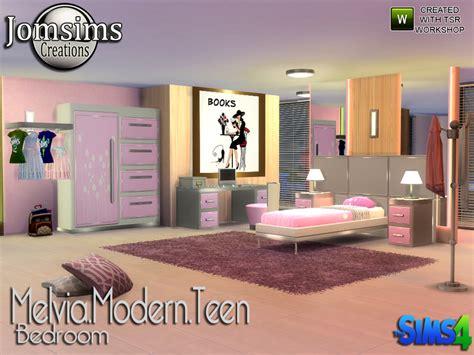 bedroom for 4 kids jomsims melvia modern teen bedroom