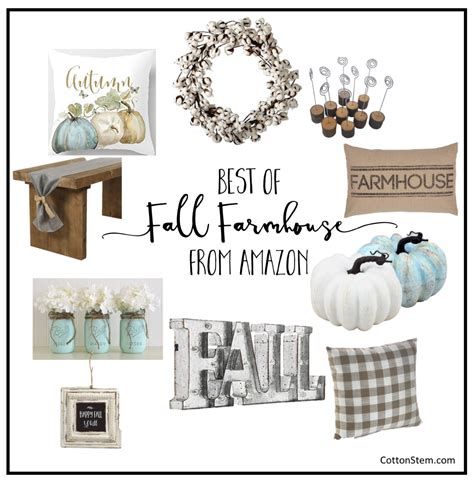home design and decor shopping powered by wish home design decor shopping amazon the best fall farmhouse decor from amazon cotton stem