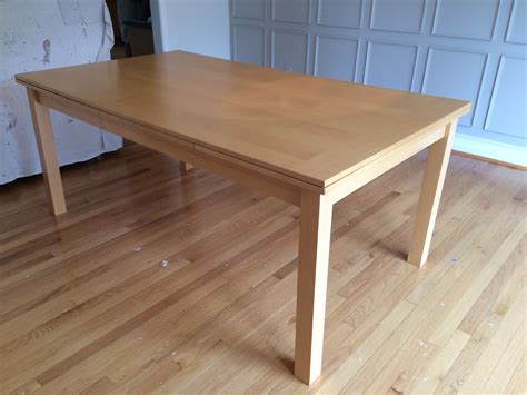 elm c table elm inspired solid wood dining table for 150