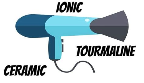 Hair Dryer Tourmaline Vs Ionic which is best tourmaline vs ceramic vs ionic hair dryer