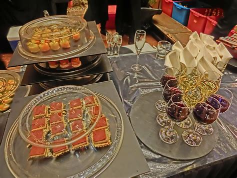 cocktail party food file hk tst 香港文化中心 hong kong cultural centre night