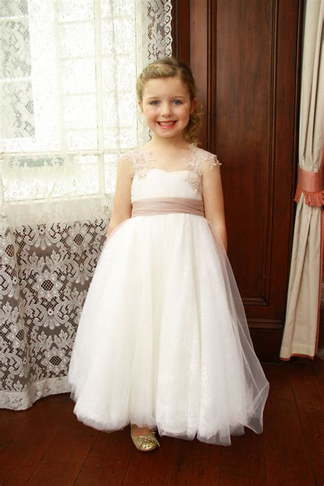 White Gown Tulle embroidered cap sleeve white floor length tulle