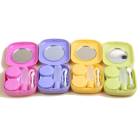 Contact Lens Set 35 best contact lens cases images on contact