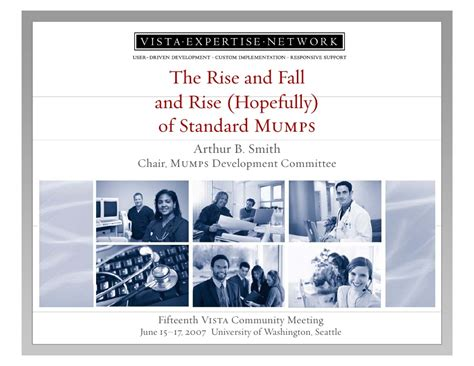The Rise And Fall Of Images by The Rise And Fall And Rise Of Standard Mumps