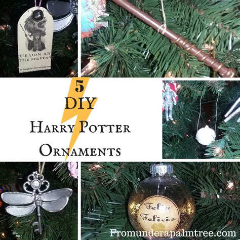 printable harry potter ornaments 5 diy harry potter ornaments
