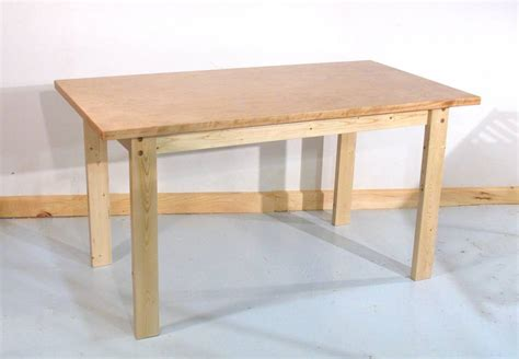Simple Table L by How To Build A Table
