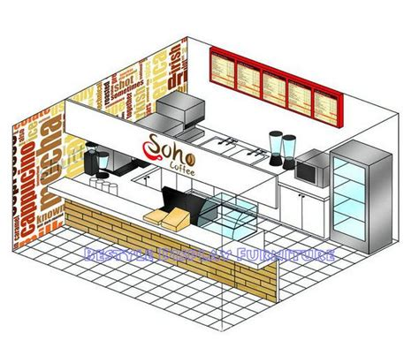 Floorplan Design fast food kiosk design images pinterest