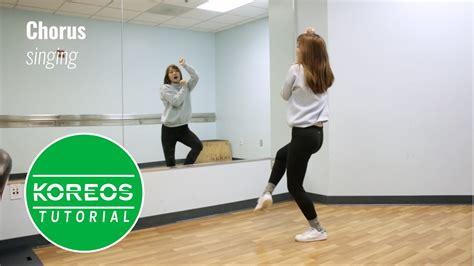 tutorial dance red velvet koreos red velvet 레드벨벳 rookie 루키 dance tutorial youtube