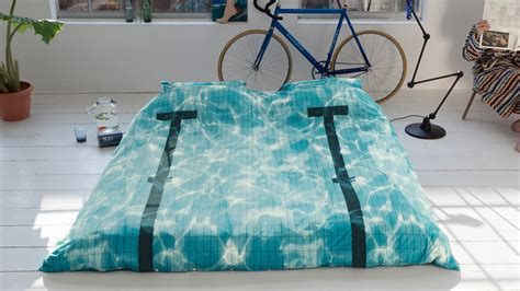 turn your bed into a swimming pool colossal