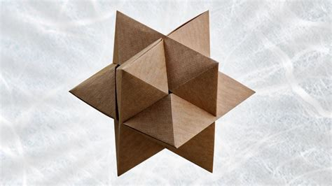 How To Make Paper Puzzle - origami burr puzzle froy