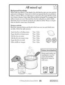 3rd grade 4th grade science worksheets all mixed up