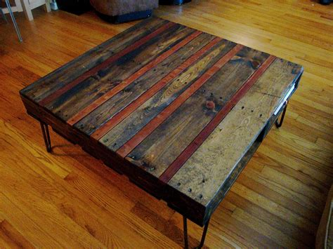reclaimed pallet and piano coffee table 22nd designs