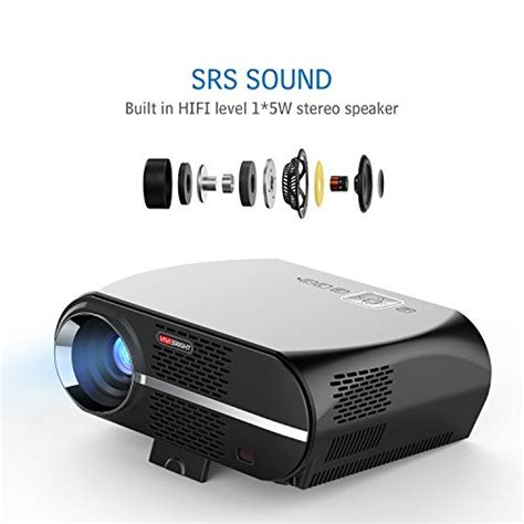 1 bedroom efficiency definition vivibright gp100 video projector lcd 1080p full hd level image quality 3500 lumens led