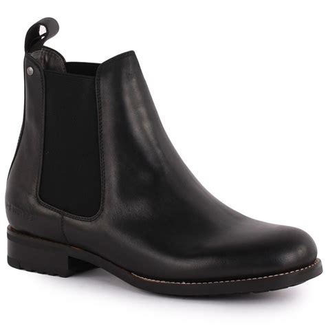 g manor chelsea shine womens chelsea boots in black