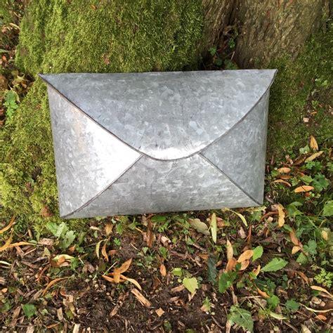 Designer Briefformat briefkasten im briefformat aus zink postkasten landhaus