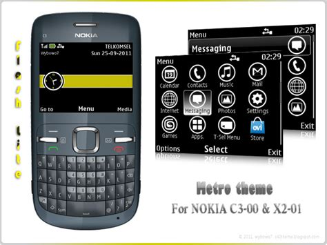 themes by nokia c3 metro theme for nokia c3 00 x2 01 asha 200 asha 201 asha 302