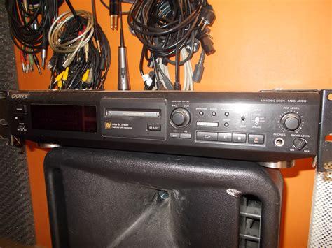 format audio minidisc sony mds je500 image 1540772 audiofanzine
