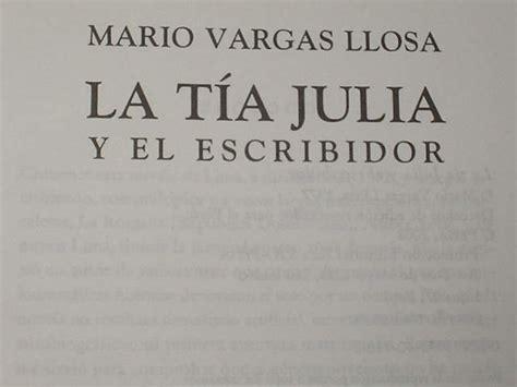 libro la tia julia y la tia julia y el escribidor s 65 00 en mercado libre