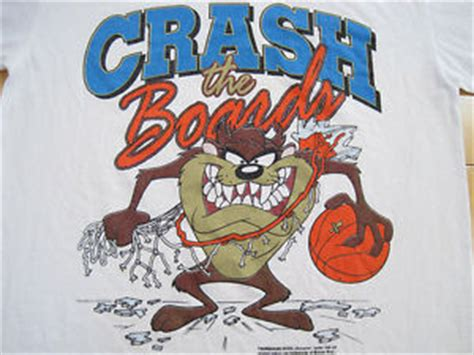 devil z crash great logo 1992 crash the boards tazmanian devil taz t