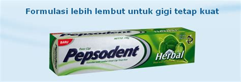 Pasta Gigi Pepsodent Herbal sikat pasta gigi jenis pasta gigi pepsodent